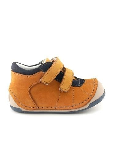 Cici Bebe Ayakkabı Cicibebe Nubuk Cırtcırtlı Dikiş Detaylı Erkek Çocuk Bot Renkli